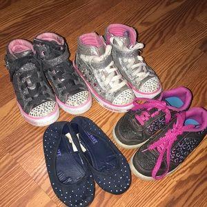 Bundle of size 11 shoes